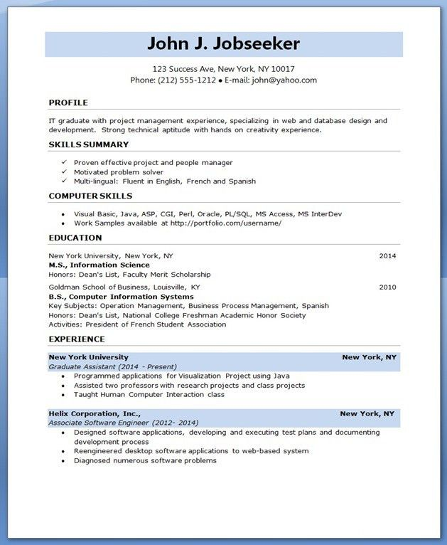 software engineer resumes | Creative Resume Design Templates Word ...
