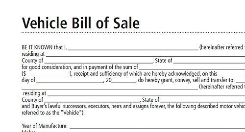 Download Car Bill of Sale Template Uk | rabitah.net