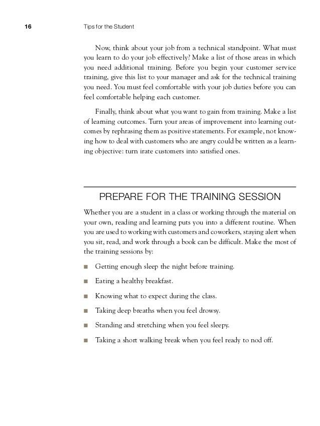 Customer service training 101 quick and easy techniques that get grea…