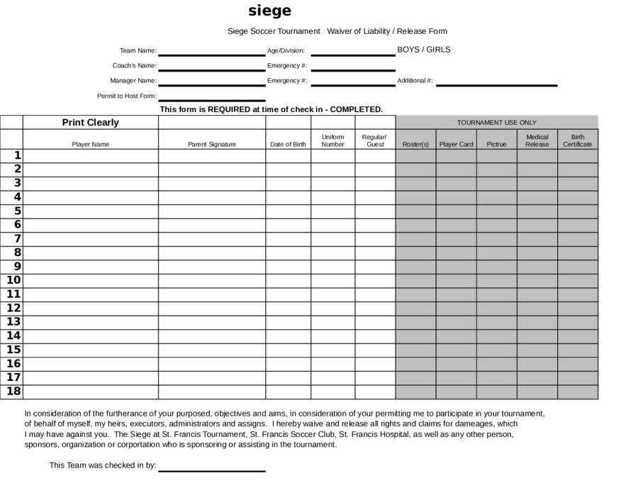 Release Of Liability Form   What Is Release Of Liability | Free .