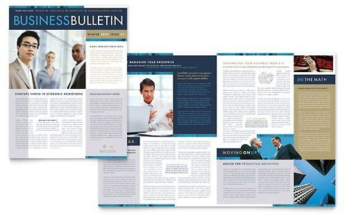 Professional Services - Newsletter Templates - Word & Publisher