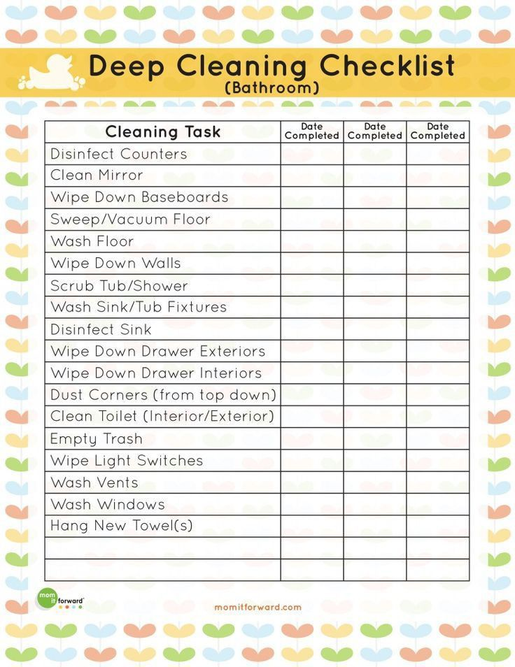 Best 10+ Deep cleaning lists ideas on Pinterest | Deep cleaning ...