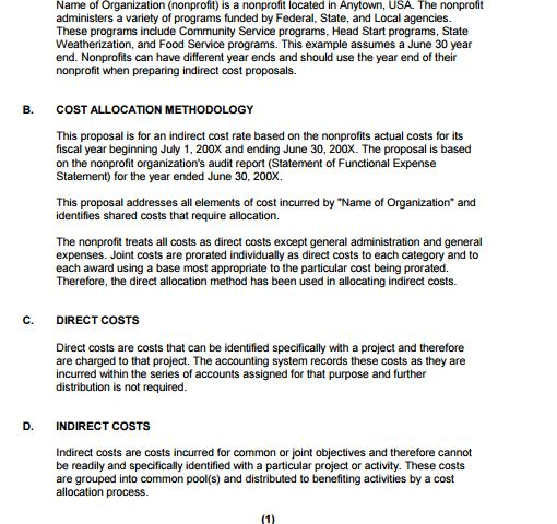 6+ Cost Proposal Templates – Proposal Template