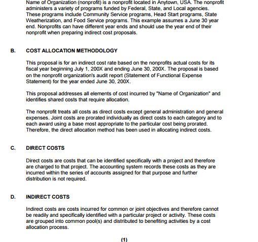6+ Cost Proposal Templates U2013 Proposal Template