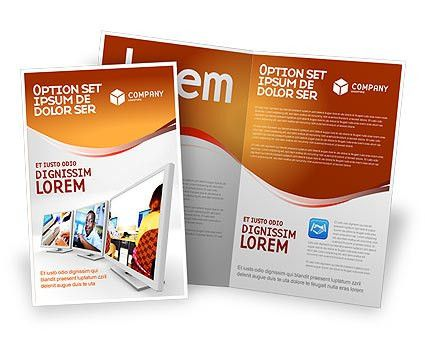 Computer Education In School Brochure Template Design and Layout ...