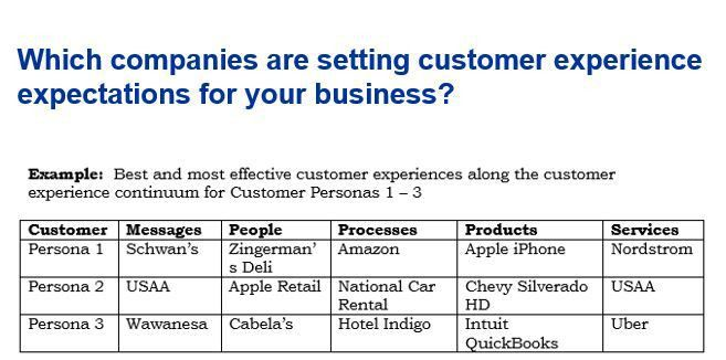 Customer Experience Strategy Best Practice: Why Personas? |