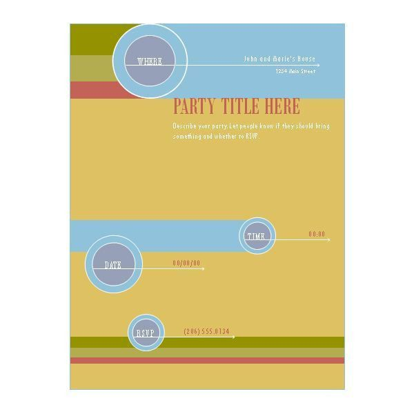 10 Best Images of Free Blank Flyer Templates - Microsoft Publisher ...