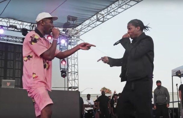 "Watch Pro Video Of Tyler, The Creator & A$AP Rocky Doing ""Who Dat ..."