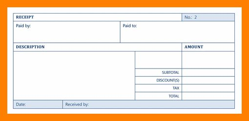 9+ receipt template microsoft word | cfo resumed
