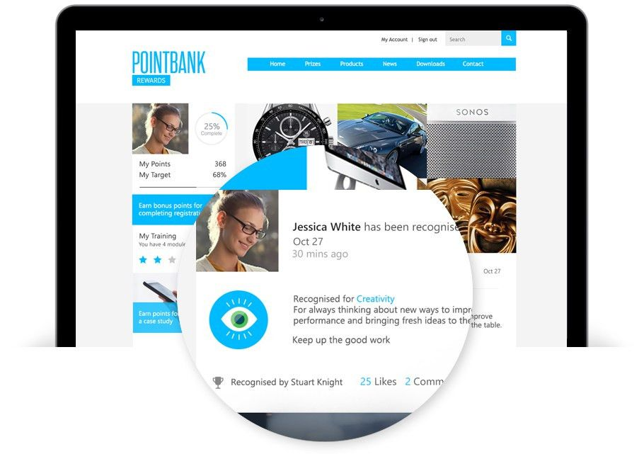 Pointbank | Employee engagement solutions