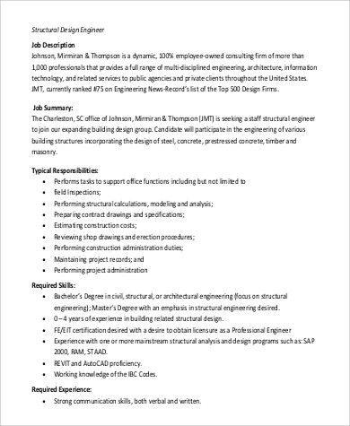 Building Engineer Job Description. Engineer And Maintenance ...
