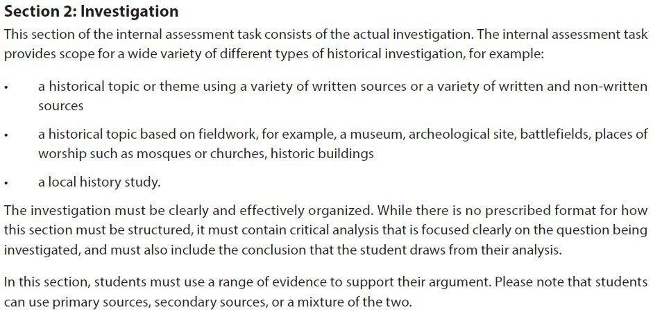 Writing the IA - woffordibhistory