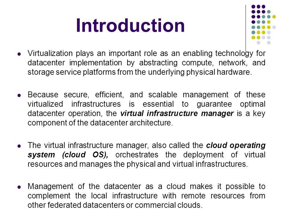 IaaS Cloud Architectures: Virtualized Data Centers to Federated ...
