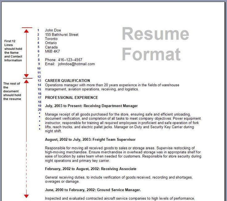 chronological resume sample pdf 2. operations manager resume ...