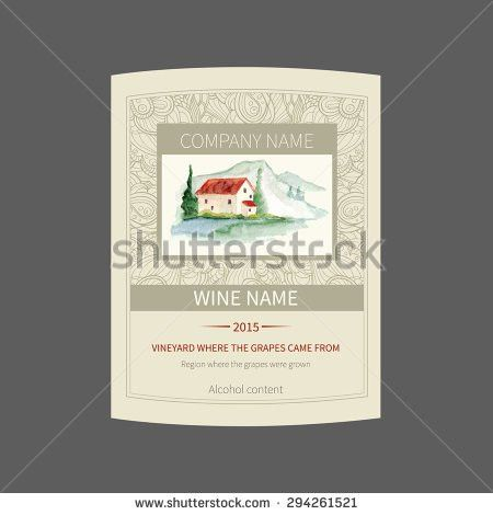 French Wine Label Stock Images, Royalty-Free Images & Vectors ...