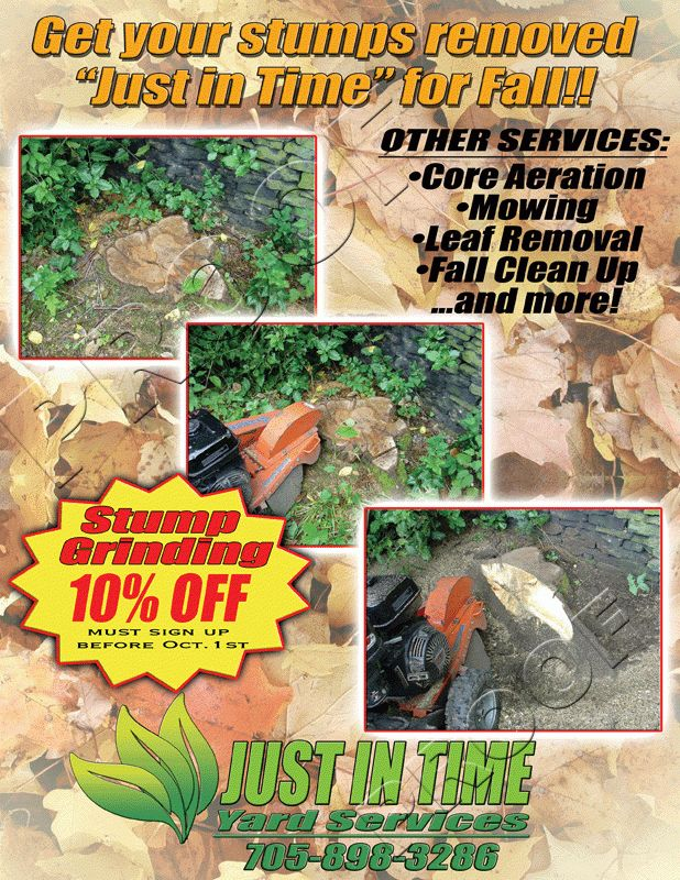 Sandra Story: Advertising ideas for landscaping business