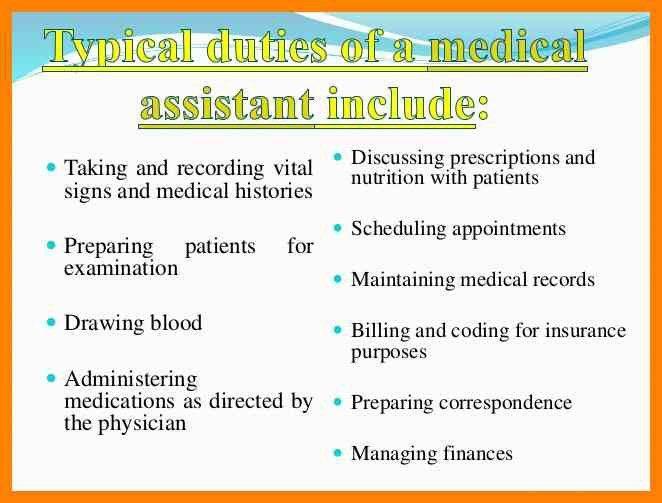 8+ Job Description Medical Assistant | marriage biodata