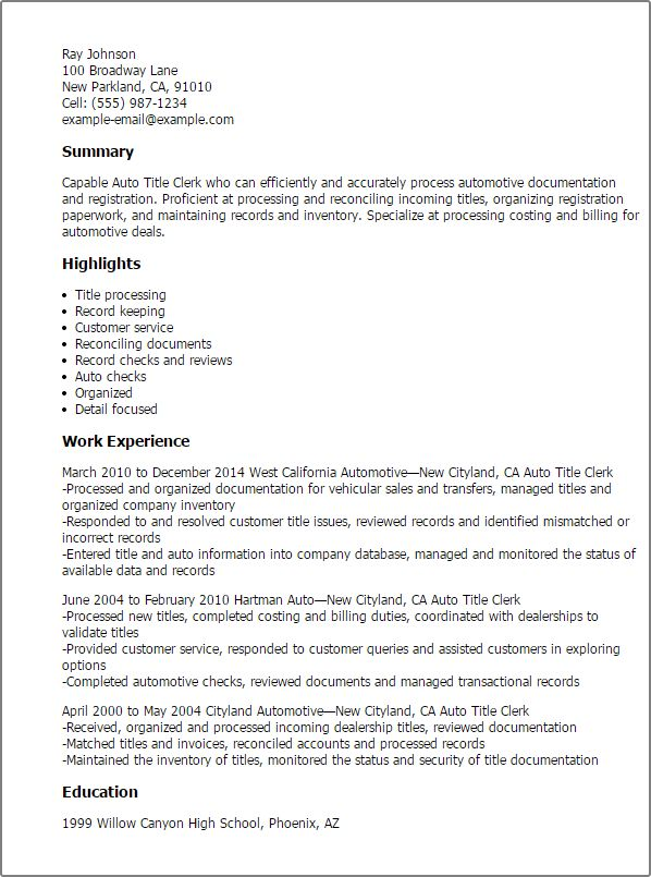sample resume titles resume cv cover letter sample resume titles - Resume Title Examples Of Resume Titles