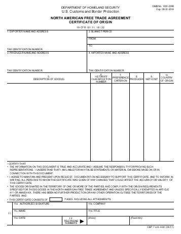 Certificate Of Origin Template. Invoice-Format-Template-Blank ...