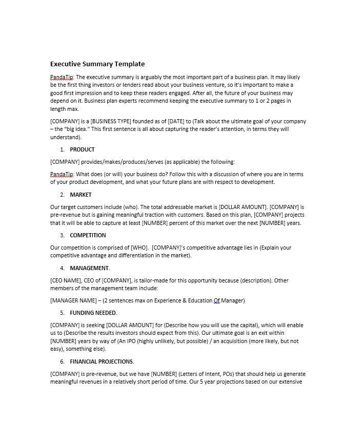 Executive Report Template. 12 Project Report Introduction Sample ...