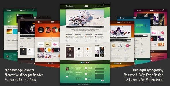Advantico - Responsive Site Template by yashma | ThemeForest