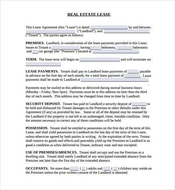 Sample Real Estate Purchase Agreement Template - 8+ Free Documents ...