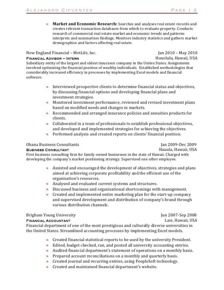 Resume - Australian Version