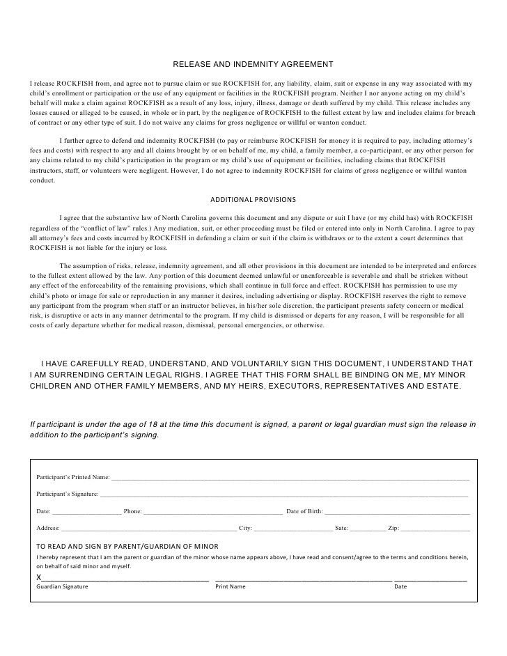 ASYMCA Camp Rockfish Application Documents