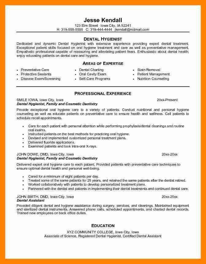 dental doctor resume free pdf template. dental receptionist resume ...