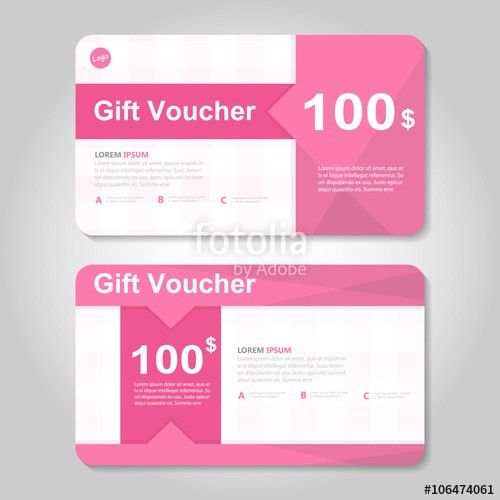 yellow and blue gift voucher template layout design set ...
