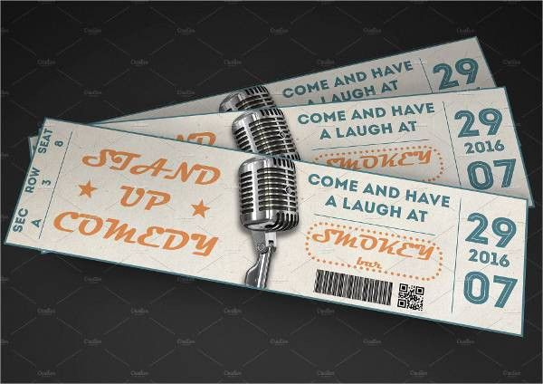 Event Ticket Template - 9+ Free PSD, Vector AI, EPS Format ...