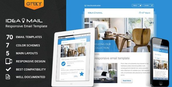 Fresh Newsletter - Hybrid Email Template + Access to Gifky Layout ...