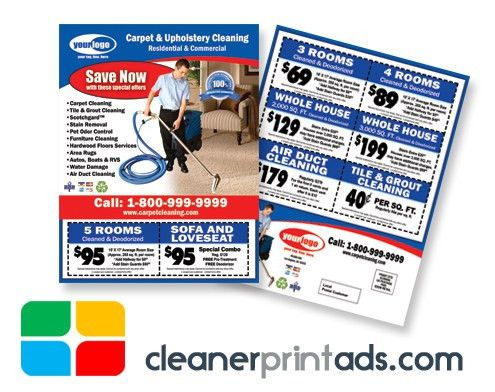 Commercial Cleaning EDDM Postcard Template #CC50001