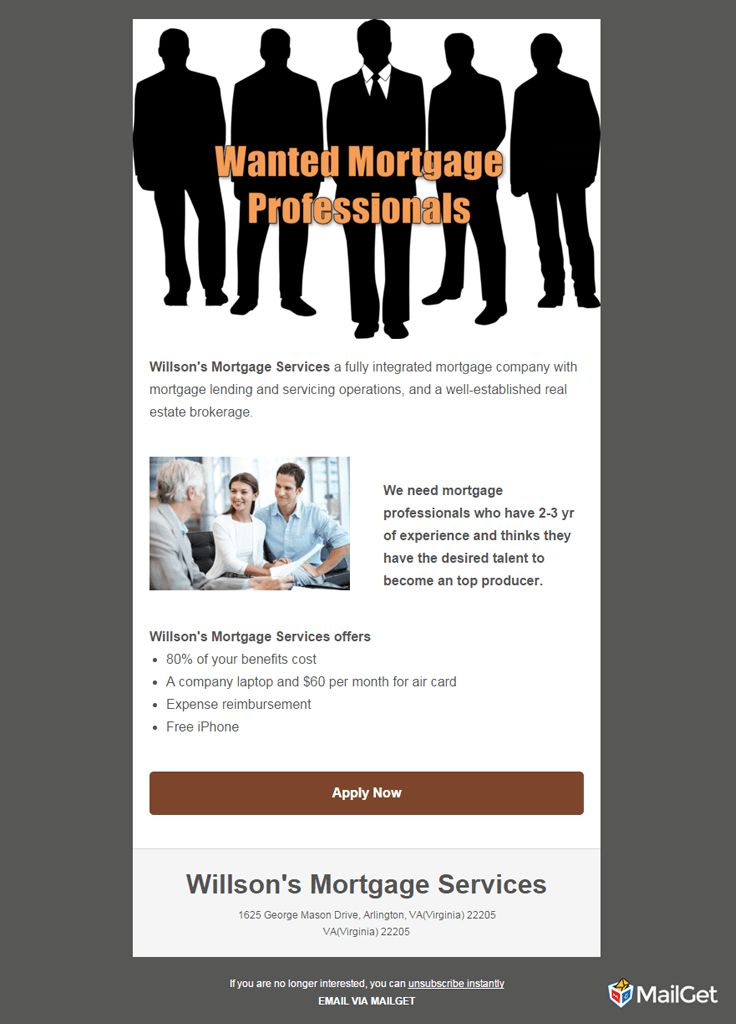 10 Best & Free Job Recruitment Email Templates   MailGet
