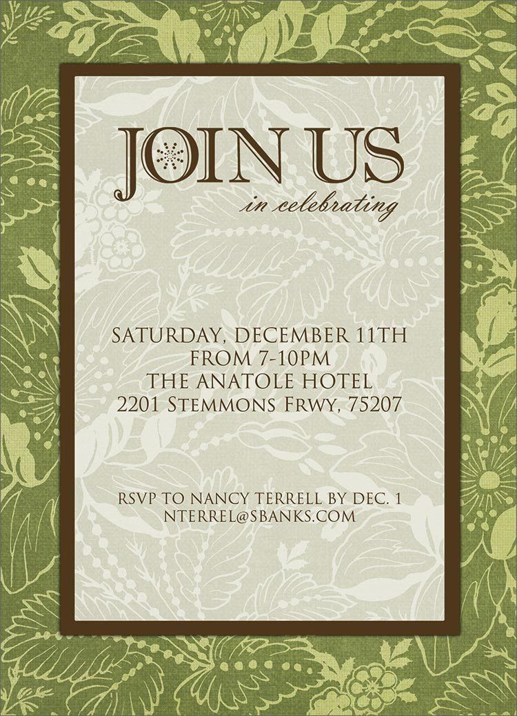 Impactful Formal Invitation To A Dinner Party Follows Affordable ...