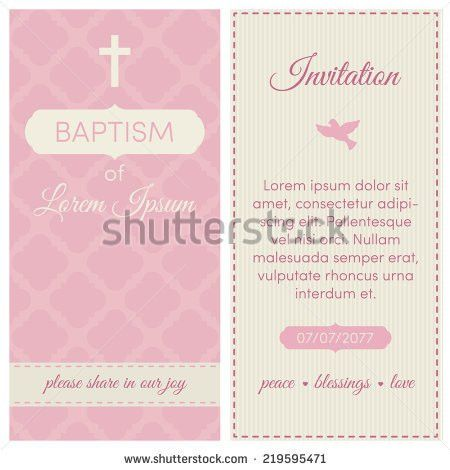 Christening Invitation Stock Images, Royalty-Free Images & Vectors ...