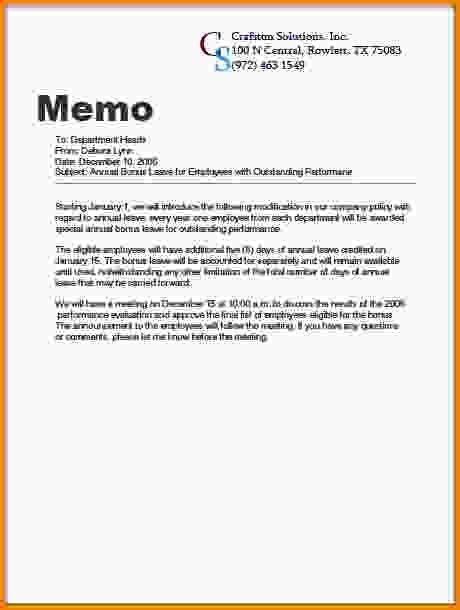 10+ proper memorandum format   Letter Template Word