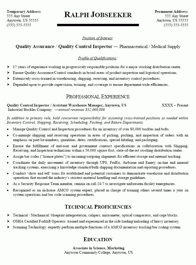 examples manufacturing job assembly line worker resume make resume ...