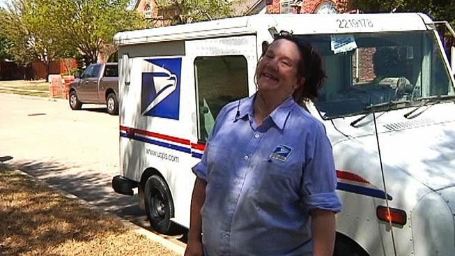 Nine-Months Pregnant Mail Carrier Continues to Deliver Mail - NBC ...