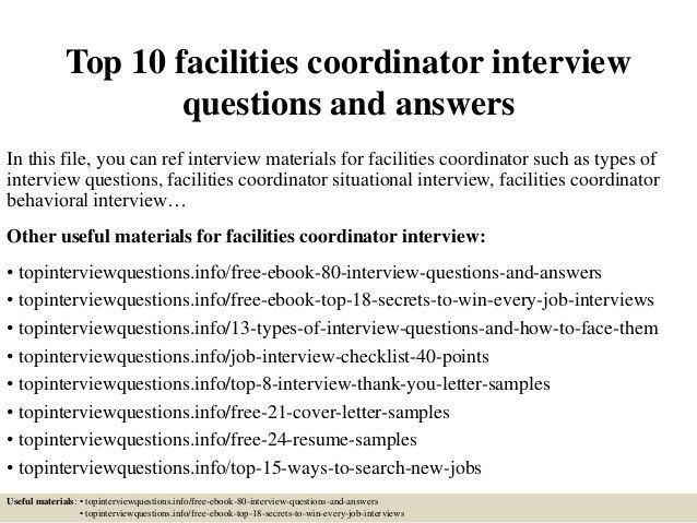 top-10-facilities-coordinator -interview-questions-and-answers-1-638.jpg?cb=1428281305