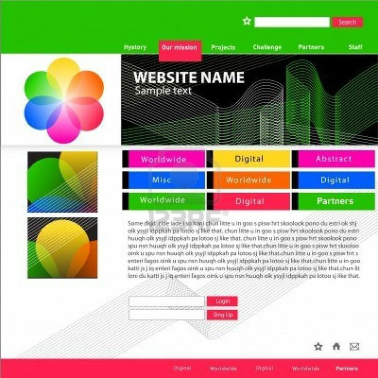 100 best HTML Website Templates images on Pinterest | Website ...
