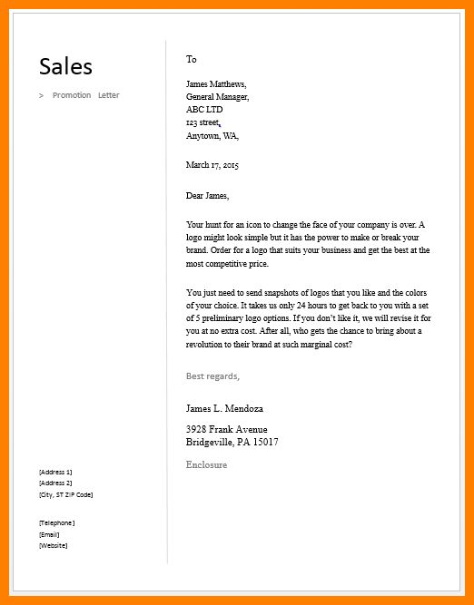 9+ sales letter example photos | buyer resume