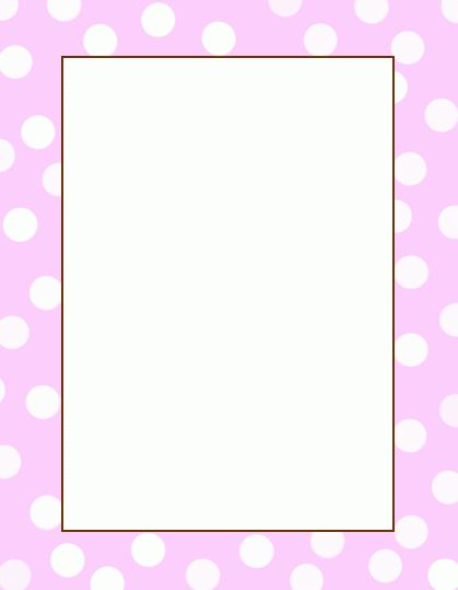 baby page border | Blank Template: Save to your computer using the ...