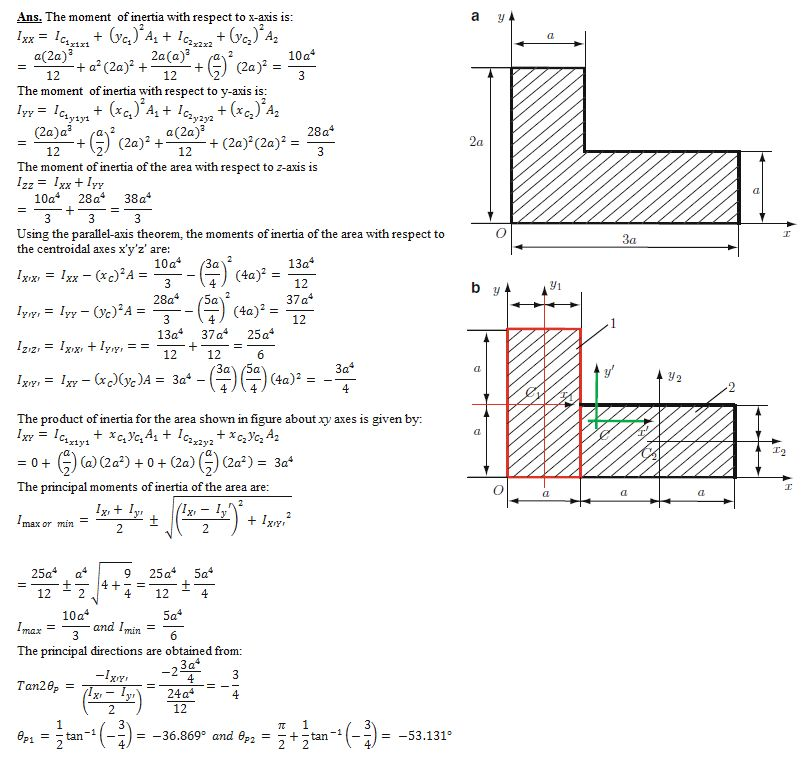 DETERMINATION OF C.G. , PARALLEL AXIS AND PERPENDICULAR AXIS ...