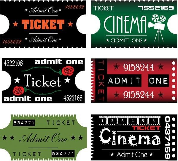 Tickets free vector download (155 Free vector) for commercial use ...