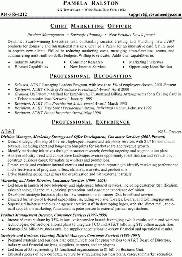 Sample Resume With Accomplishments Section - Gallery Creawizard.com