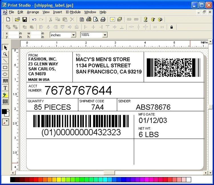 Download Print Studio Label Maker 6.7 (x64 & x32)