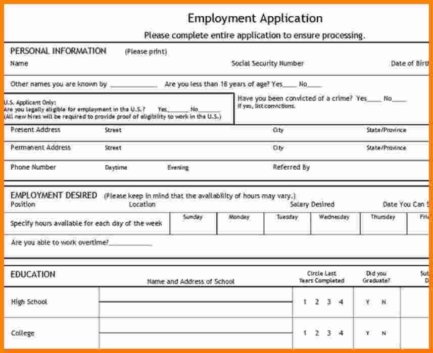 12 job application forms templates | ledger paper