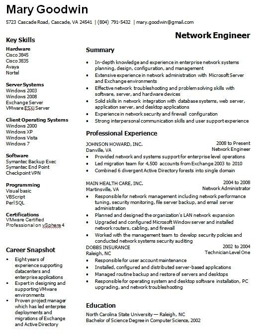 it administrator resume samples. system administrator resume ...