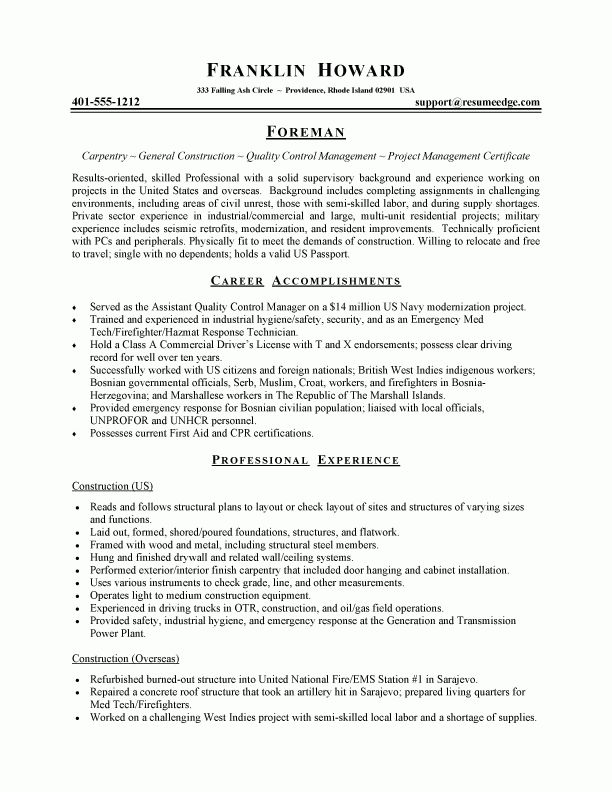 supervisor resume sample distribution supervisor resume call a ...